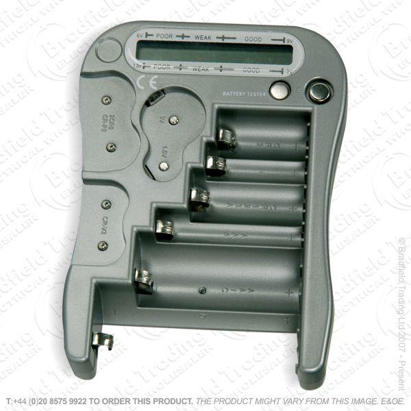 G52) Tester Battery Universal 12 types