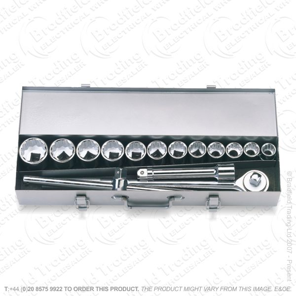 G37) Socket Set 3/4  15pc DRAPER