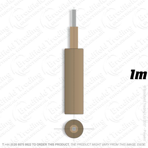 #SP Meter Tails 70mm Brown **1M** 6381 LSF