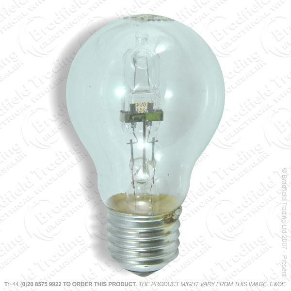 A12) GLS Halogen ES Clear 70W (92w) Lamp ECO
