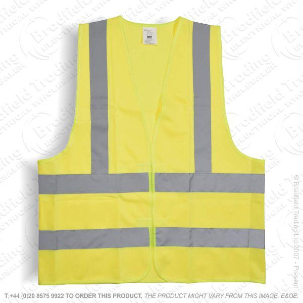 Hi Vis Vest  Waistcoat Size Large MERCUR