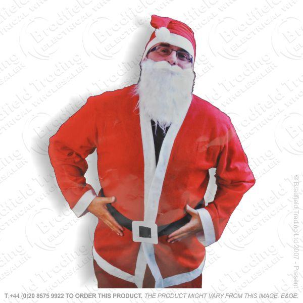 D12) Xmas Santa Suit Red