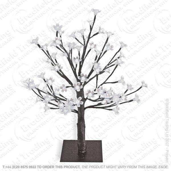 D11) 60cm 128LED Blossom Tree White