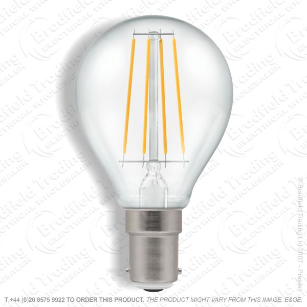 A31) LED SBC 5w Golf 27k Filam Dimm CROMTON