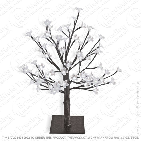 D11) 70cm 144LED Blossom Tree White