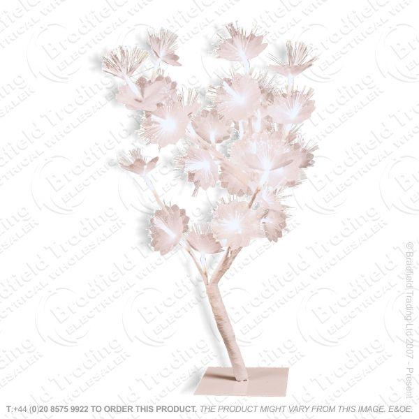 D11) 60cm Sakura Tree White Snow