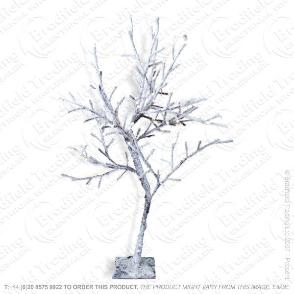 D11) 1m 128LED Sakura w Snow Tree W.White
