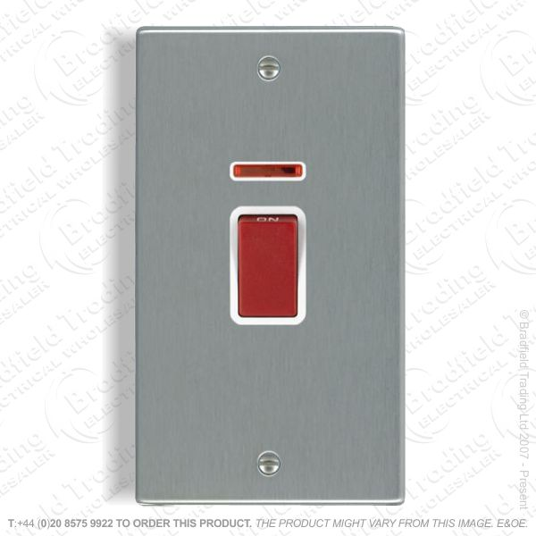 45A Cooker Switch Vertical Stainless HAM