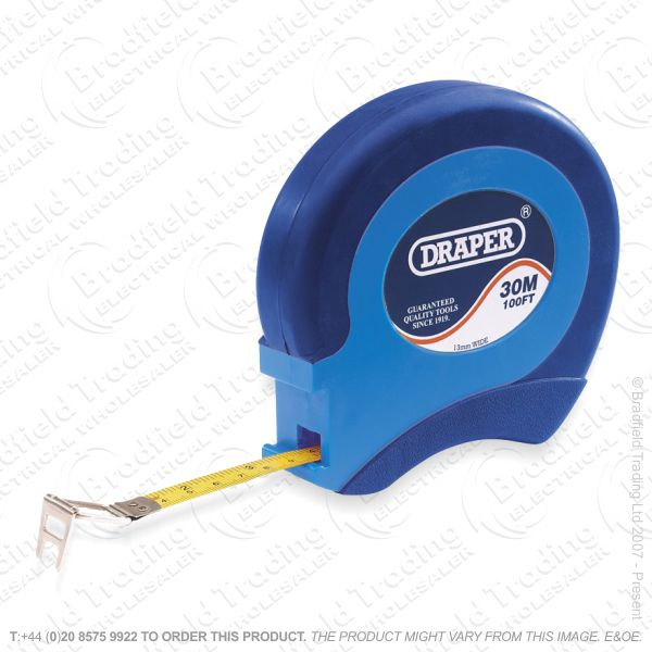 G51) Steel Tape Measure 30m/100ft DRAPER