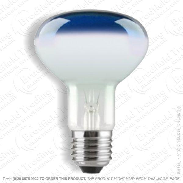 A09) Reflector R95 col ES blue 75W CRO