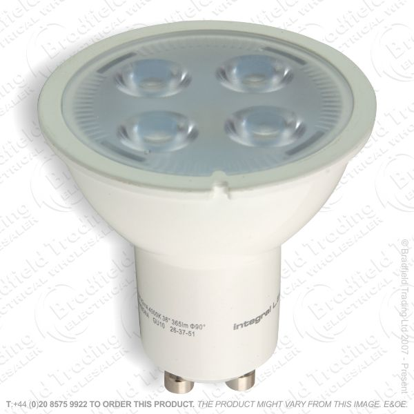 A31) LED 5.5W GU10 2700k Warm Dimmable INT