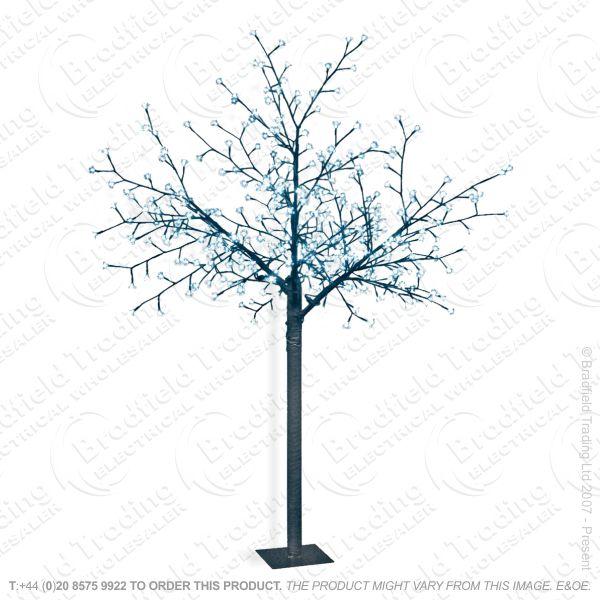 D11) Xmas 2.5m Blossom Tree 500led Warm White