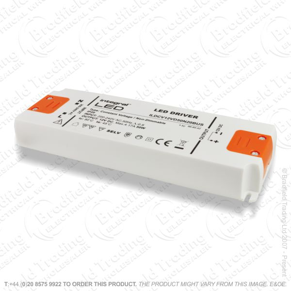 D13) LED Driver 12V 20W Const Voltage INTEGRA