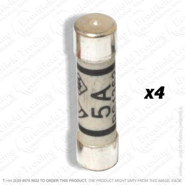 F12) Fuses Plugtop 5A BS1362 *Card 4* F05