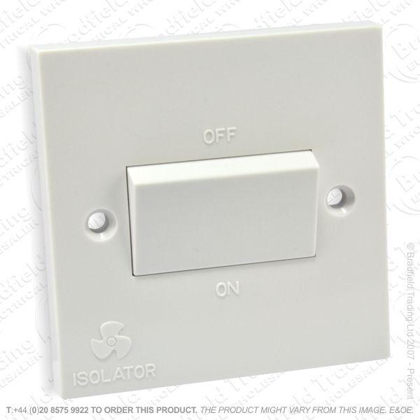 I17) Switch Fan Isolator 3P 10A 1G ECO