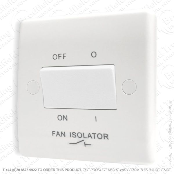 I15) Pull Switch Fan Isolator 3P 10A 1G