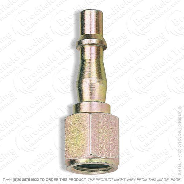 G55) Female Coupling Screw Adaptors pk5 0.25