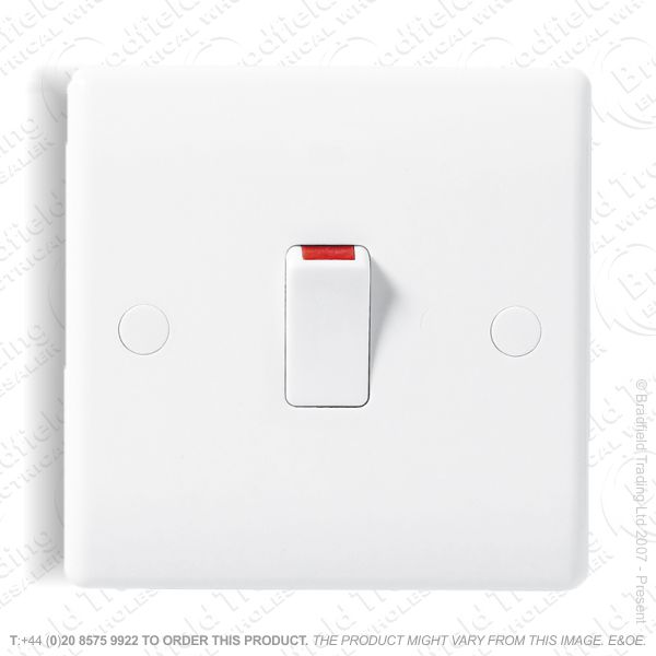 Switch DP 20A 1G White BG