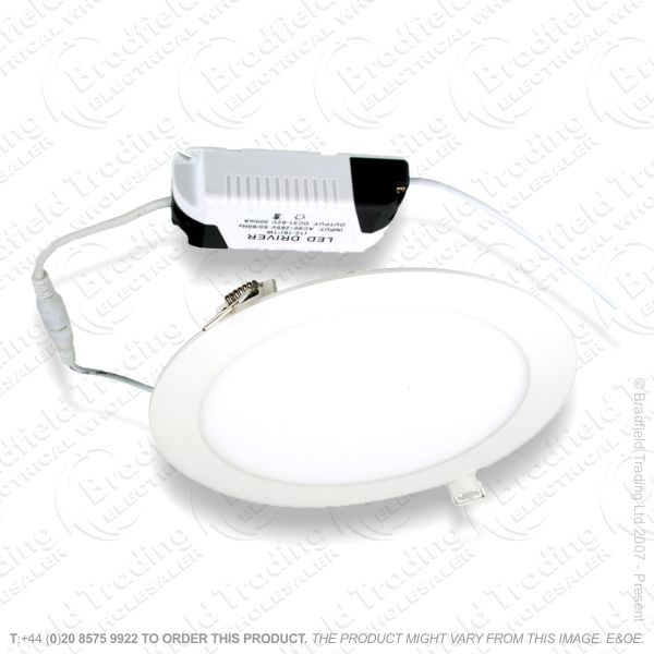 B27) Downlight 12W LED 3000K 800lm 150mm INT