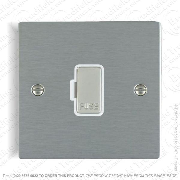 Flex Outlet Plate Satin Plate HAMILTON