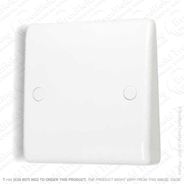 Flex Outlet Plate Front 20A white BG