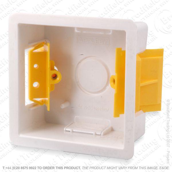 H23) Dry Lining Box 1G 47mm