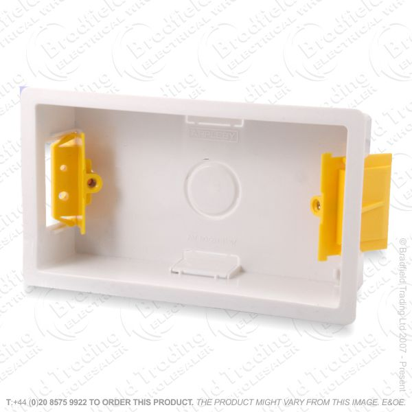 H23) Dry Lining Box 2G 47mm SN8382