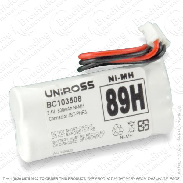 E13) Battery Phone 2.4V 600mAH 2xAAA T008