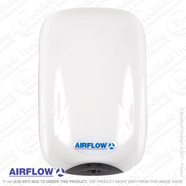 C09) Hand Dryer ECODRY Mini white AIRFLOW