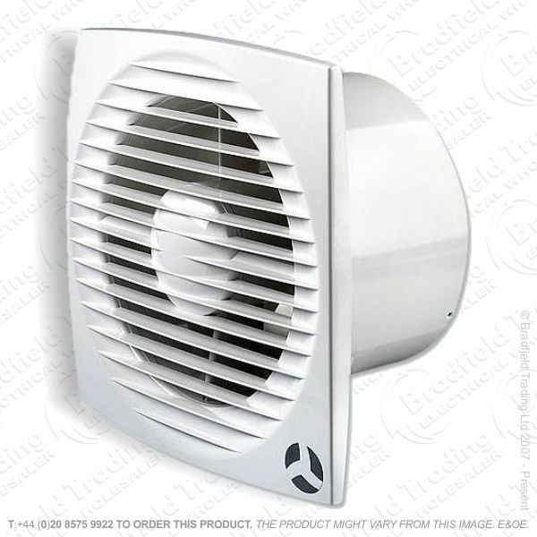 Extractor Fan Mains 100mm Timer Aura AIRFLOW