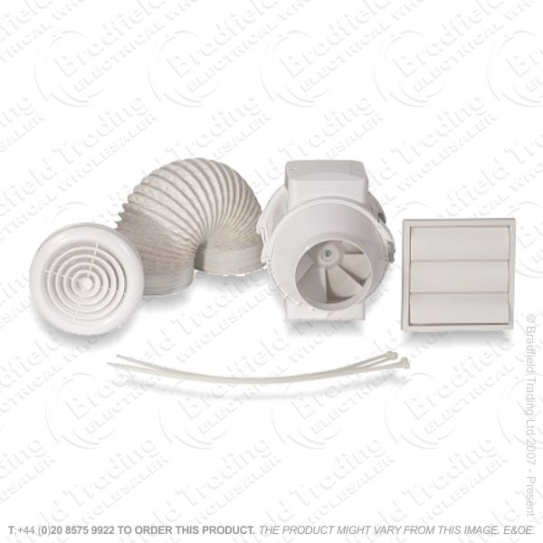 Extractor Fan Inline Kit 150mm AIRF
