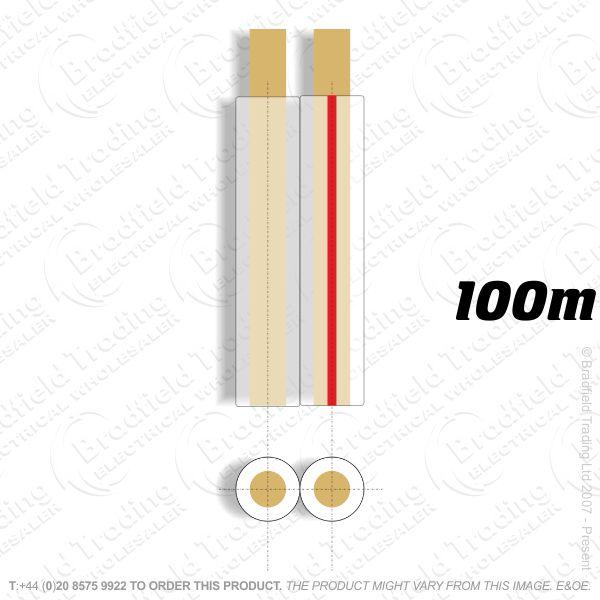 H08) Speaker 90 strand 12mm transp 100M