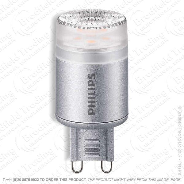 A47) 2.3w CorePro LED  25W G9 827 Dimm PHI
