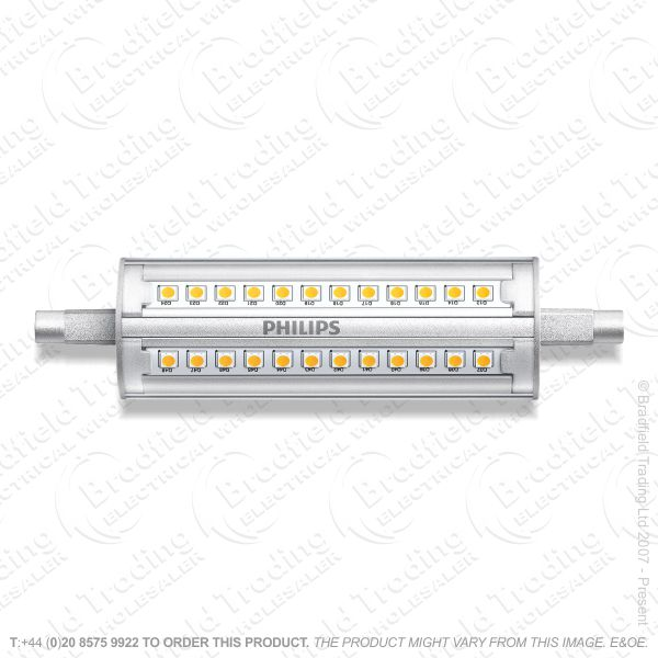 A48) LED 118mm R7s 14W 830 (100w) Dimm PHILIP