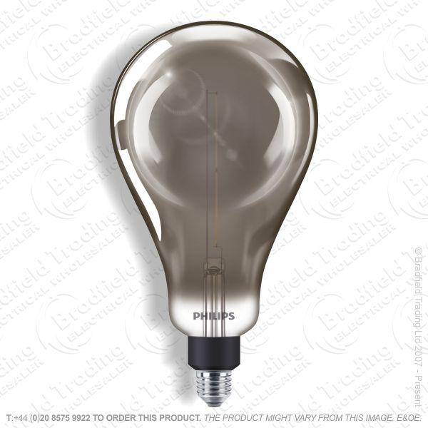 A25) 25w LED ES Giant Globe A160 4k Dimm Smok