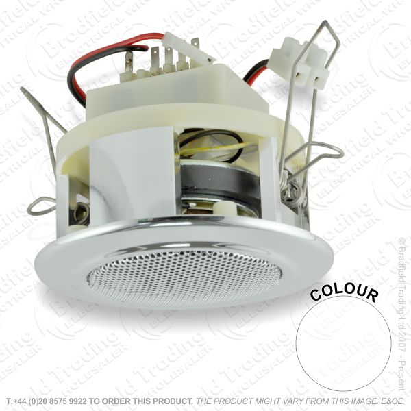 E22) Speakers 4W 63mm white Ceiling