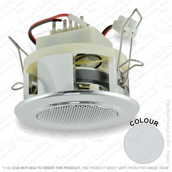 E22) Speakers 6W 2.5 x95mm Chrome SKY