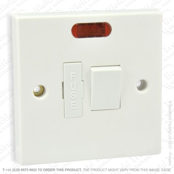 I17) Spur Fused Switched Flex Neon 13A ECO