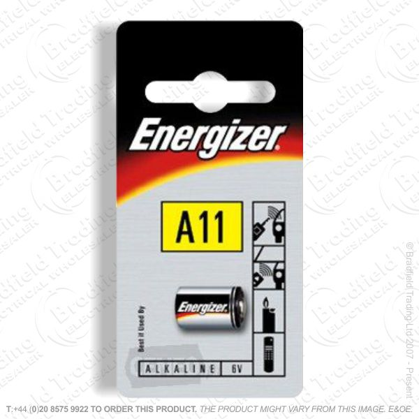 E07) 6V A11 Alkaline Battery 10x16mm Ene