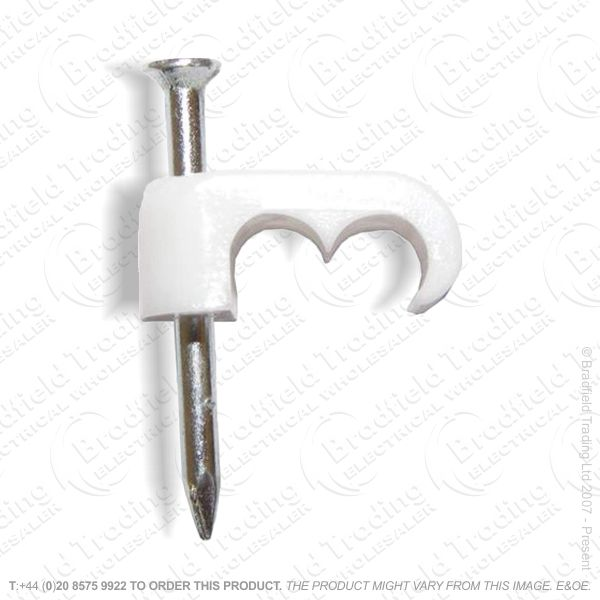 H02) Cable Clips Shotgun CT63/65 White