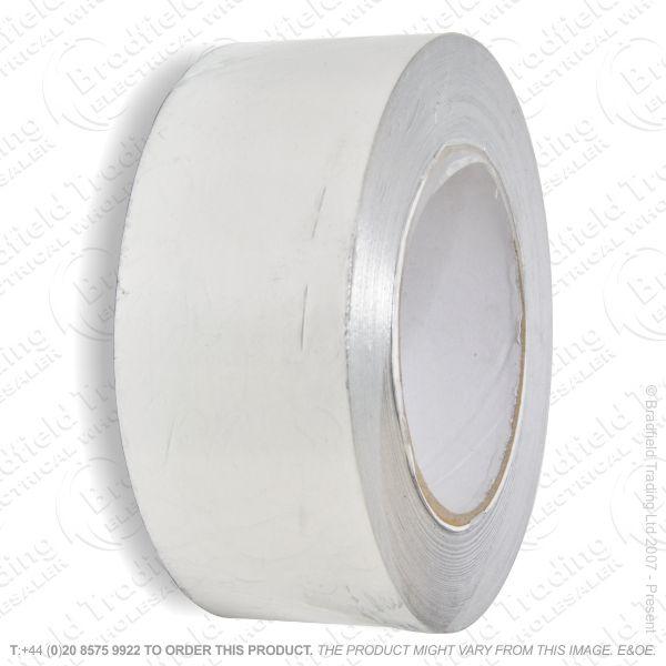 G02) Ducting Aluminium Tape Silver 50mmx45M