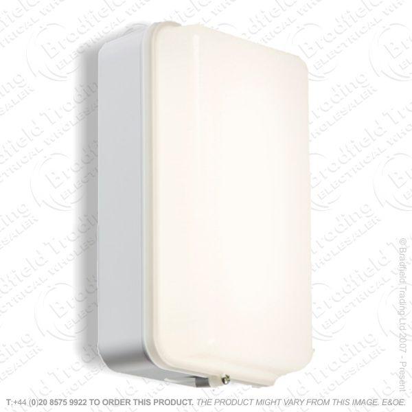 Fitting Bulkhead White Base LED 5W IP54