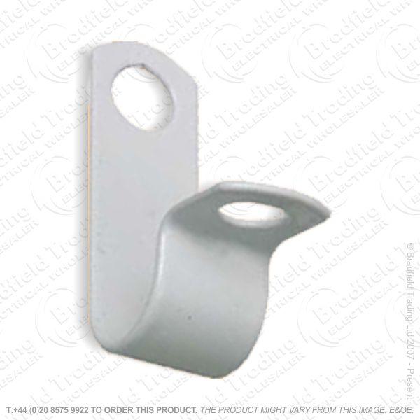 H03) Plastic Coat Clips Fireproof 1.5 2c WHIT