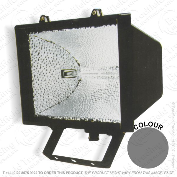 B20) Floodlight Fitting 120W black MLA FL01BK
