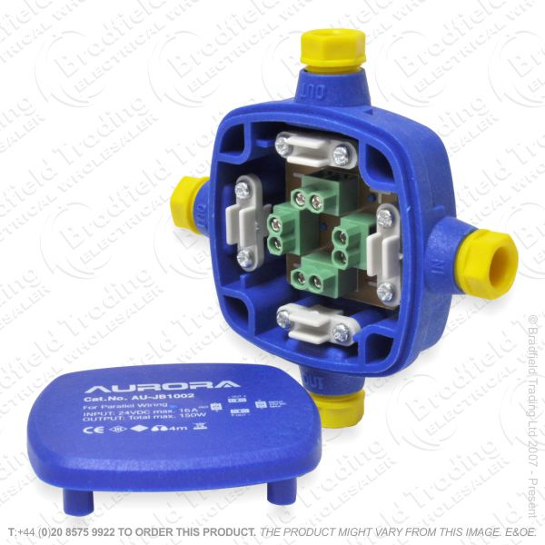 H24) 24V DC IP68 Wiring Junction Box IP68JBS