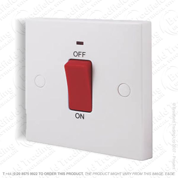Switch 45A DP Neon Wh REDGREY BP
