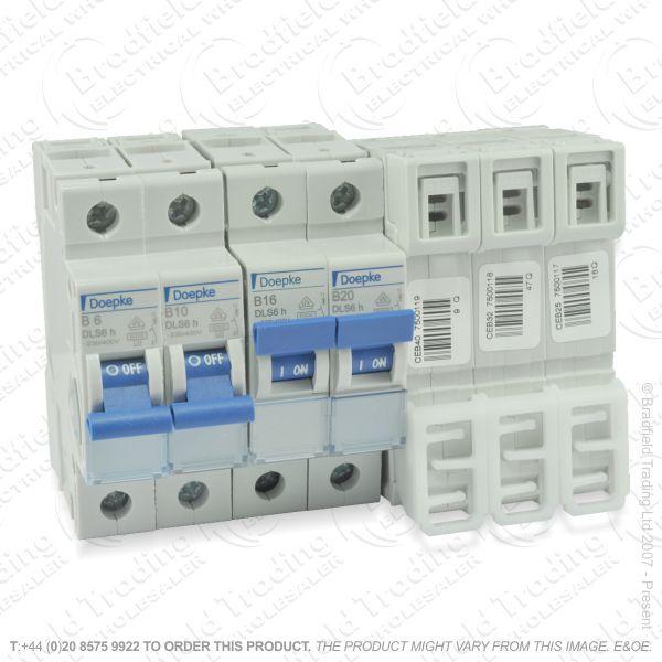 H28) Consumer Breaker MCB SP 10A DOEPKE