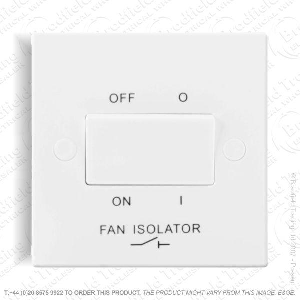 Switch Fan Isolator 3P 10A 1G ECO