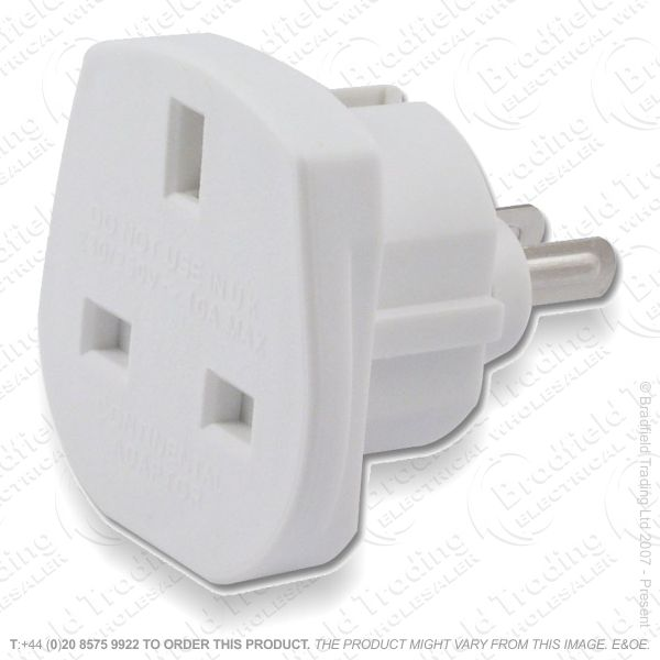 F11) Travel Adaptor UKsock- USA  plug Loose