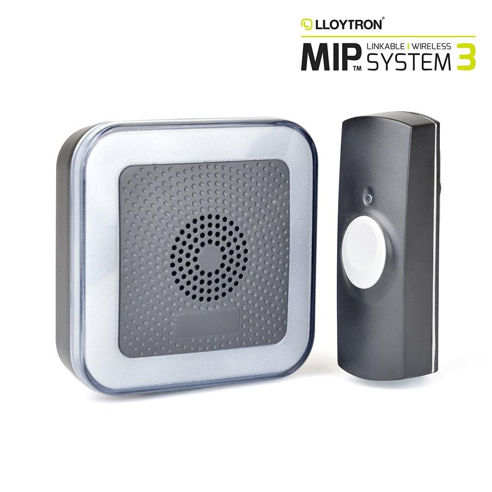 Door Bell Extra Loud Strobe MIP3 LLOYTRON